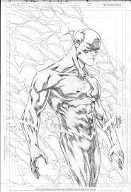 Desenho De Kid Flash De Jovens Titãs Para Colorir Tudodesenhos