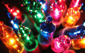 Colorful Christmas Lights Wallpaper px