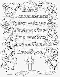 Bible LoveOneAnother ColorbyN Image Gallery Love One Another Coloring Page