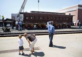 Rails Or Not, Re-created Lincoln Train Car Arrives In Springfield ...
