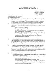 Counselor Cover Letter Sample Images Photos School