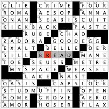 rex parker does the nyt crossword puzzle april 2016