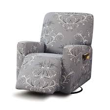 Amazon.com: TIKAMI Stretch Printed Recliner Chair Covers Washable ... Black Chair Ahoy Ding Leather With Ottoman Rattan Chairs Ikea Amazoncom Sobuy Comfortable Relax Rocking With Foot Rest Glider Rocker Cushions For Sale Replacement Set Amazon 20 Luxury Ideas For Cushion Covers Uk Table Design Naomi Home Brisbane Espssocream Chair Remarkable Pet Indoor Westport Cabana Stripe Red Porch Brand Review Dutailier Baby Bargains Fniture Using Comfy Swing Cozy Outdoor Hampton Bay Cambridge Brown Wicker Swivel Luxe Basics Cover Me Hot Pink Interesting Nice