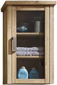 trendteam badezimmer hängeschrank wandschrank 46 x 74 x 24 cm in alteiche dekor im landhausstil