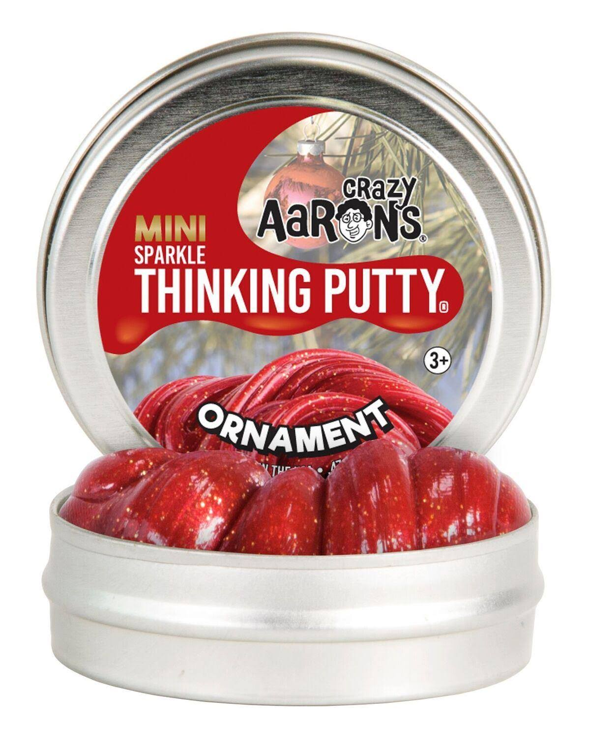 Crazy Aaron's Ornament Mini Tin Thinking Putty