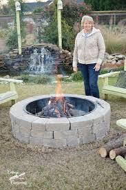47inch Round Fire Pit Burner Kit FireBoulder
