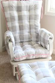 Indoor Rocking Chair Covers by Best 25 Glider Cushions Ideas On Pinterest Recover Glider