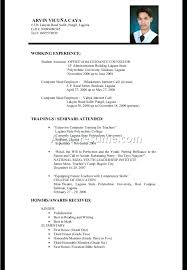 Resume Examples For College Graduates With Little Experience Also Student Sample Recent Graduate Job