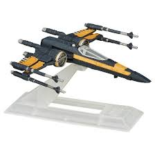 Lego X Wing Stand by Star Wars The Force Awakens Black Series Titanium Poe Dameron U0027s X