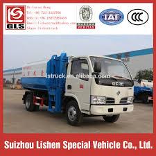 100 Rubbish Truck Dump Crane Bucket Vehicle 5 Cbm Garbage Dimensions 5