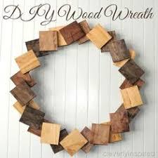 Diy Wood Wreath Cleverlyinspired