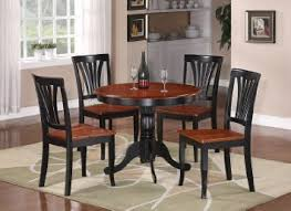 Buy 3 Pc Round Bristol Table Dinette Kitchen Amp 2 Chairs In Black Cherry 36quot Diameter Cheap Price On Malibaba