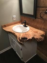 bathroom vanity live edge live edge slab live edge table