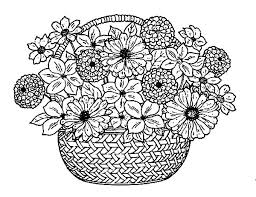 100 Flowers Coloring Pages