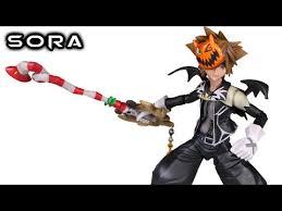 Halloween Town Sora by Play Arts Kai Sora Halloween Town Kingdom Hearts Ii Action Figure