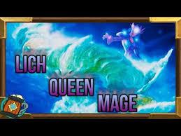 hearthstone deck tech lich queen jaina knights of the frozen