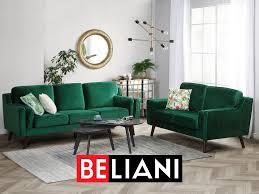 eleganter 3 sitzer mit grünem polsterbezug lila sofa lila