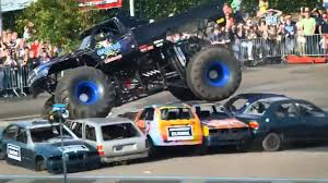100 Monster Truck Crashes Haaksbergen Accident Multiple Angles Truck Rides On A