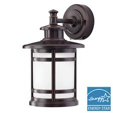 home decorators collection rubbed bronze motion sensor outdoor
