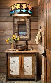 An Elegantly Rustic Cabin In Steamboat Springs In 2019 | | Bathroom ... Bathroom Rustic Bathrooms New Design Inexpensive Everyone On Is Obssed With This Home Decor Trend Half Ideas Macyclingcom Country Western Hgtv Pictures 31 Best And For 2019 Your The Chic Cottage 20 For Room Bathroom Shelf From Hobby Lobby In Love My Projects Lodge Vanity Vessel Sink Small Vanities Cheap Contemporary Wall Hung