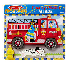 100 Melissa And Doug Trucks And Floor Puzzles Fire Truck Amazon Com