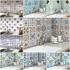mosaik selbstklebend in badezimmer kacheldekore günstig