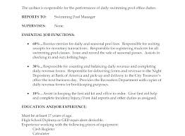Cashier Example Resume Examples Of Resumes Sample S For