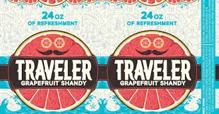 Jack O Traveler Pumpkin Shandy Calories by Traveler Grapefruit Shandy Hitting 24oz Cans U0026 Jack O Traveler