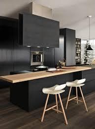 cuisine gris et noir comment repeindre une cuisine idées en photos