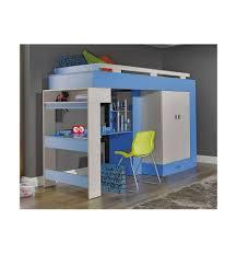 lit et bureau enfant lit combiné bureau enfant libellule bleu mobiler d enfant