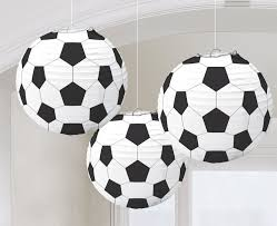 Soccer Themed Bedroom Photography by Amazon Com Amscan Soccer Goal Birthday Party Paper Lanterns