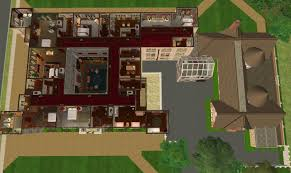 Sims 3 Floor Plans Download by Mod The Sims Downton Abbey Highclere Castle No Cc
