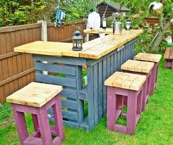 Best Of Diy Outdoor Pallet Furniture Or Bar And Stools 91 Backyard