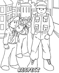 Boy Scouts Must Respect The Older Coloring Pages