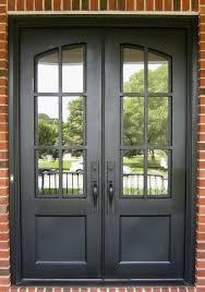 iron divided light door clark iron doors nc
