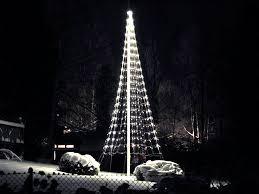 Flagpole Christmas Tree by Flagpole Christmas Tree 8m Cool White Montejaur