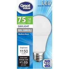 light bulbs walmart