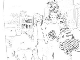 Christmas Tree Books For Preschoolers by Coloring Pages