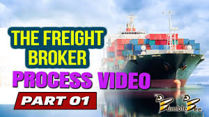 THE FREIGHT BROKER PROCESS VIDEO PART 1 Freight Broker Training Www ...