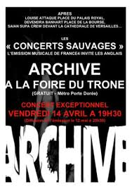 archive live at foire du trone 2006 tvrip