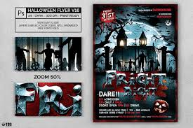 Free Halloween Flyer Templates by Halloween Flyer Template Psd 17 Customizable With Photoshop