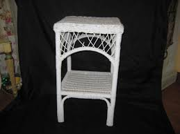 100 Mainstay Wicker Outdoor Chairs Vintage White Medium Table Side Table Bedroom Table