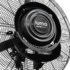 Portable Patio Misting Fans by Luma Comfort 24 Inch Outdoor Misting Fan Black Mf24b