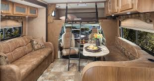 Williamsburg Furniture Class C Motorhome Custom Tan