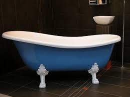 freistehende luxus badewanne jugendstil roma hellblau weiß weiß 1470mm barock antik stil badezimmer