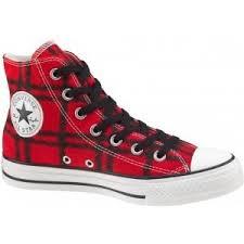 converse all plaid converse all hi plaid shoes varsity black polyvore