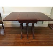 Image Of 1940s Antique Mahogany Drop Leaf Dining Table ... Art Deco Ding Room Set Walnut French 1940s Renaissance Style Ding Room Ding Room Image Result For Table The Birthday Party Inlaid Mahogany Table With Four Chairs Italy Adams Northwest Estate Sales Auctions Lot 36 I Have A Vintage Solid Mahogany Set That F 298 As Italian Sideboard Vintage Kitchen And Chair In 2019 Retro Kitchen 25 Modern Decorating Ideas Contemporary Heywood Wakefield Fniture Mediguesthouseorg