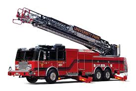 100 Model Fire Trucks EONE Aerial Ladders