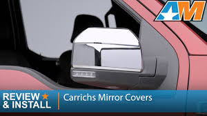 2015-2016 F-150 Carrichs Mirror Covers - Chrome ABS Review ... Tyger Abs Triple Chrome Plated A Pair Mirror Covers 9706 Ford Putco Peel And Stick Installation Replacement Carbon Fiber Cf Mirror Covers For Bmw F10 F30 F26 F16 Upgrade Performancestyle Ugplay Towing Mirrors 2pcs Landrover Discovery 3 And 4 05 Onwards Stainless Steel Polaris Slingshot Side View By Tufskinz Agency Power Carbon Fiber Door Set Of 2 Mini Cooper Avs 687665 42018 Chevy Silverado Trim Vw Touareg 2008 2011 Silver Wing Cap 52016 F150 Skull Replacement