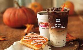 Dunkin Donuts Pumpkin Spice Latte Caffeine by Dunkin U0027 Donuts Is Adding Macchiatos To Their Coffee Menu Yes
